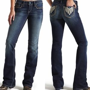 Ariat Turquoise Sunset Spitfire Bootcut Jeans
